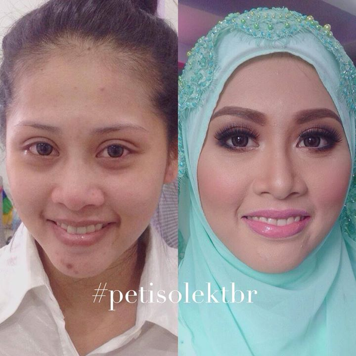 Wedding Makeup Before And After Pictures - Makeup Vidalondon