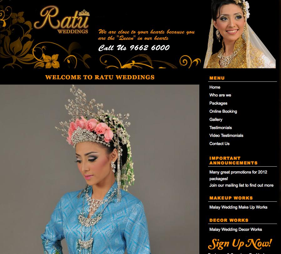 Ratu Weddings Malay Wedding Services